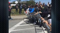 VIDEO: World News 04/29/16: Protestors Force Trump to Leave Campaign Event Through Backdoor