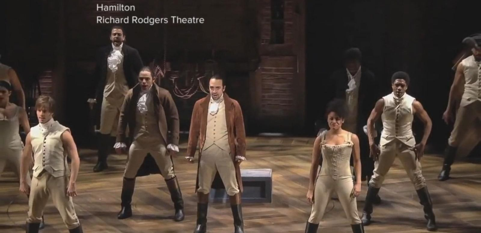 VIDEO: Thousands Audition for Broadway Hit 'Hamilton'