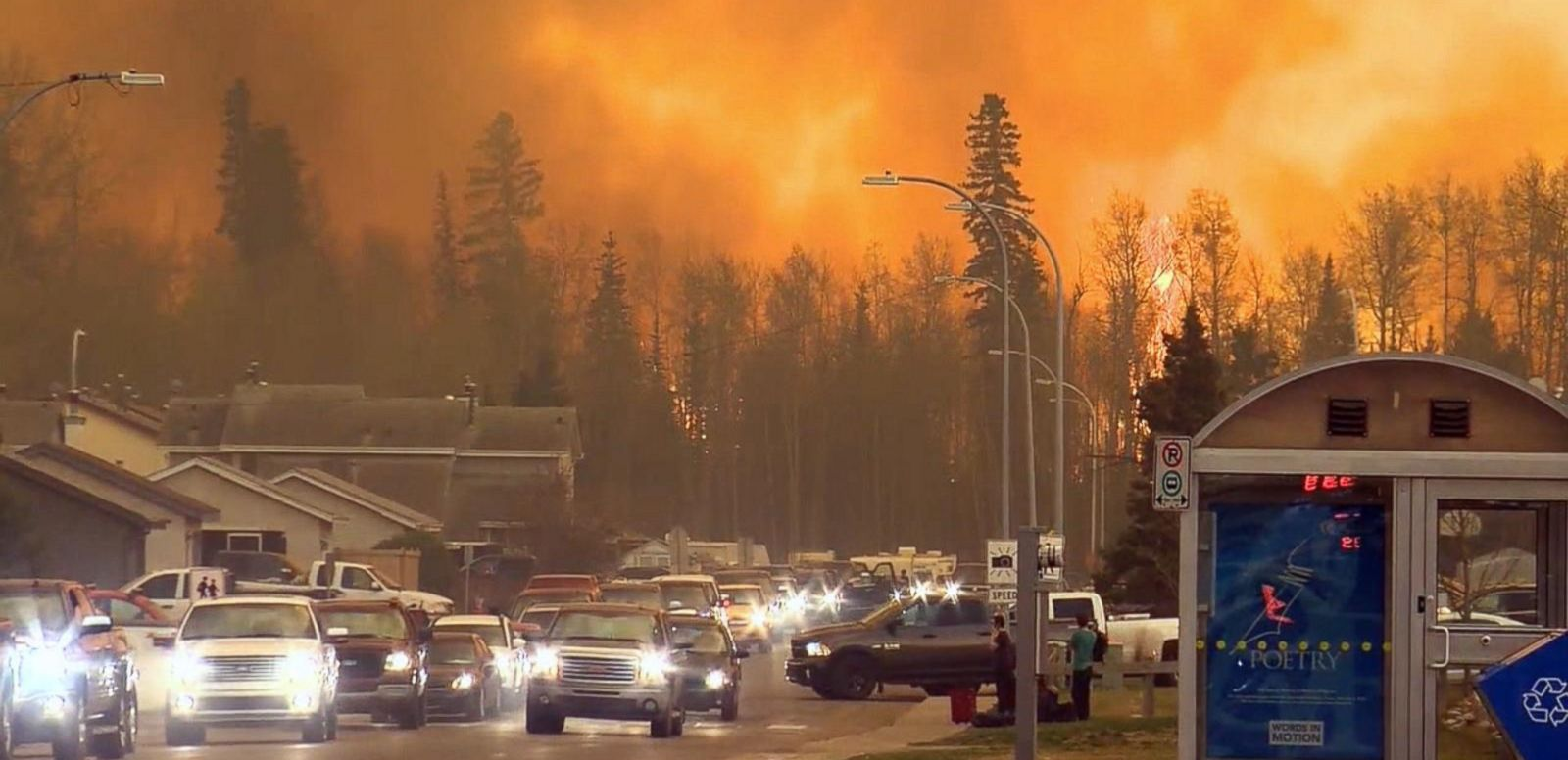 VIDEO: Fire Ravages City of Fort McMurray, Alberta