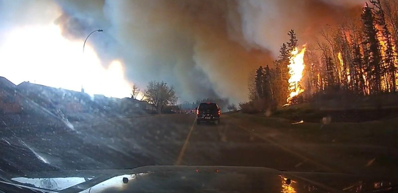 VIDEO: Fort McMurray Continues to Burn