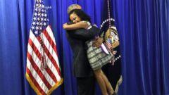 VIDEO: Little Miss Flint Tells David Muir Hugging President Obama Was Amazing