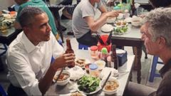 VIDEO: World News 05/23/16: Obama Closes Historic Vietnam Trip Dining on Noodles with Anthony Bourdain