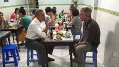 VIDEO: Obama Enjoys Noodles With Anthony Bourdain During Historic Trip to Viet Nam