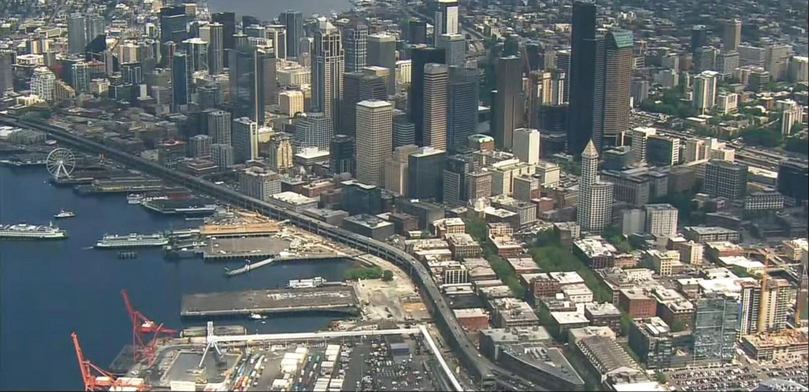 VIDEO: Index: Massive Blackout Hits Downtown Seattle