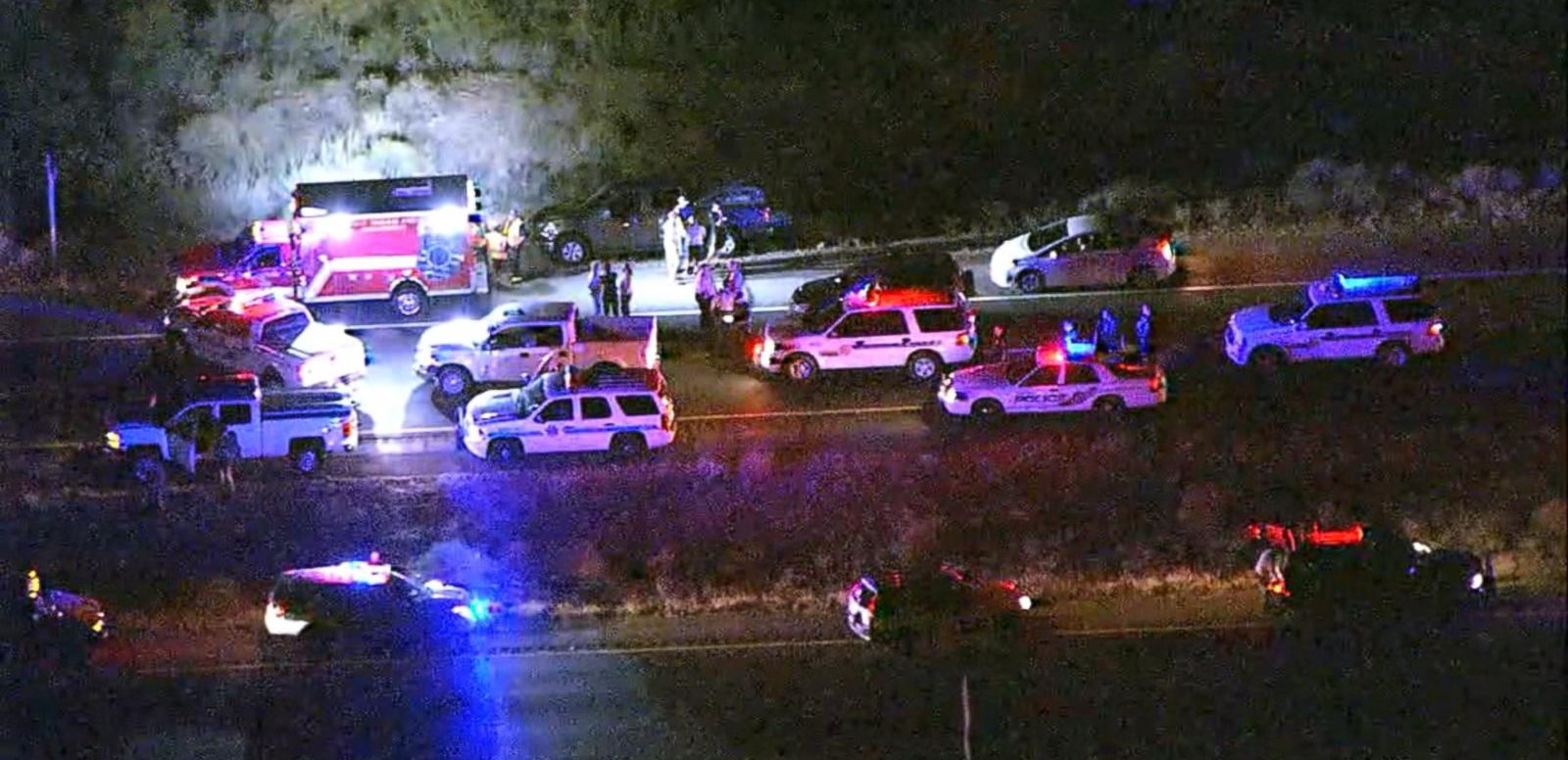 VIDEO: Fear on Arizona Highway as Gunman Fires at Cars, Wounding 2