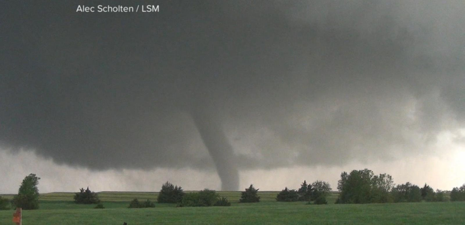 VIDEO: Tornadoes Continue to Wreak Havoc Across the Great Plains