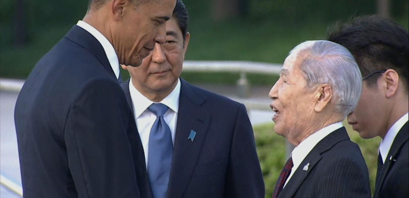 VIDEO: President Obama Becomes 1st Sitting President to Visit Hiroshima