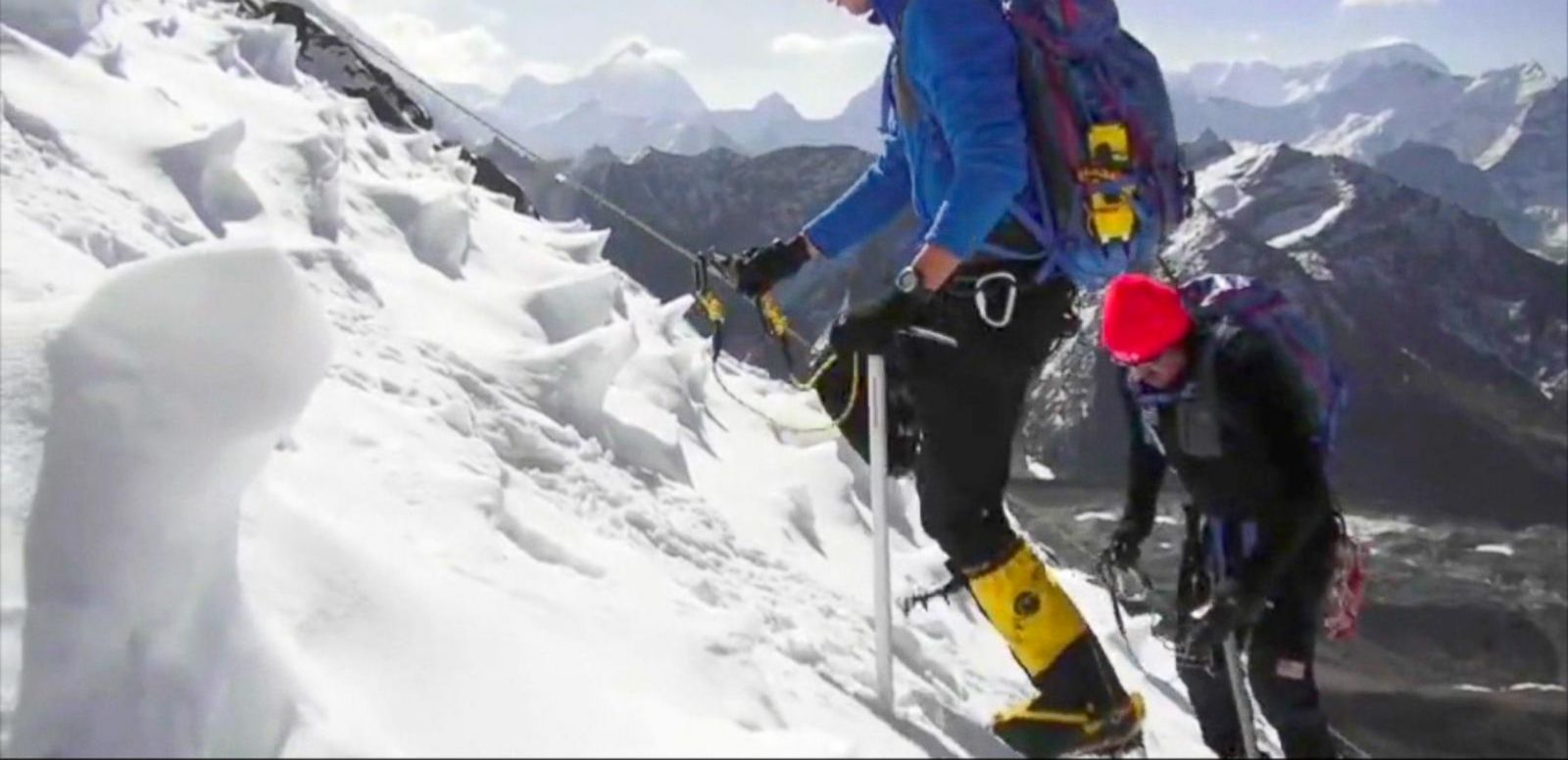 VIDEO: Celebrating Wounded Warriors on Top of the World