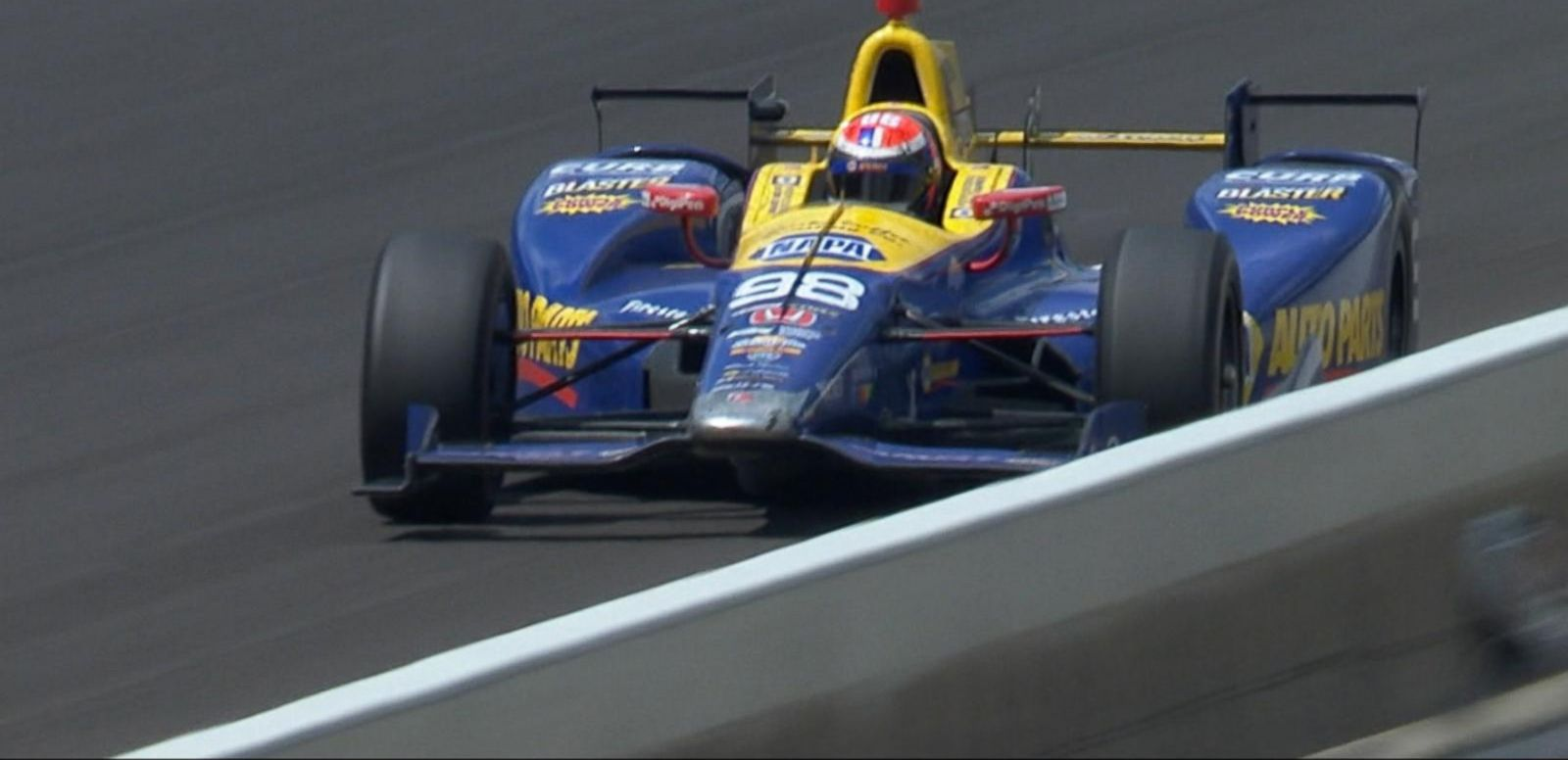 VIDEO: Rookie Alexander Rossi Wins The 100th Running of the Indy 500