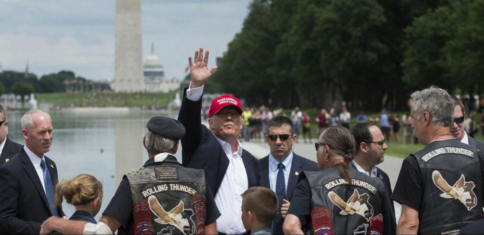 VIDEO: Donald Trump Uses Memorial Day Weekend to Appeal to America's Veterans