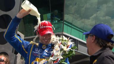 VIDEO: World News 05/29/16: Rookie Alexander Rossi Wins The 100th Running of the Indy 500