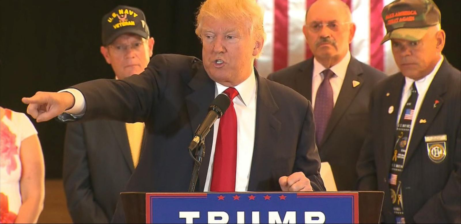 VIDEO: Donald Trump Goes on the Attack at News Conference
