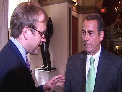 Video: ABC News Jonathan Karl interview with Rep. Boehner.