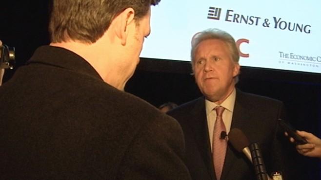 VIDEO: ABC News Jake Tapper talks with GE CEO Jeffrey Immelt