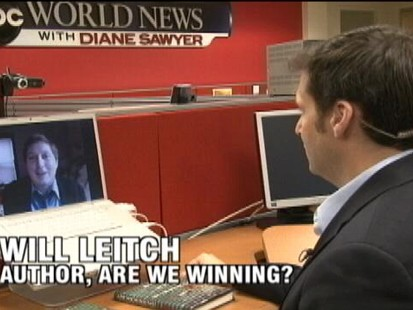 VIDEO: ABCs John Berman chats with author Will Leitch about his new book.