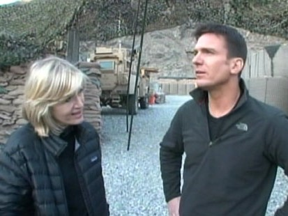 VIDEO: Diane Sawyer talks with Bill Weir about his embed with U.S. Marines.