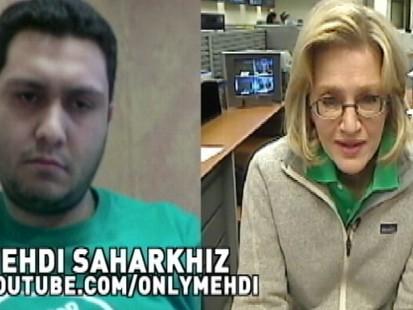 Mehdi Saharkhiz and Diane Sawyer