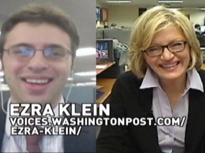 VIDEO: Diane Sawyer and Ezra Klein Discuss the Middle Class
