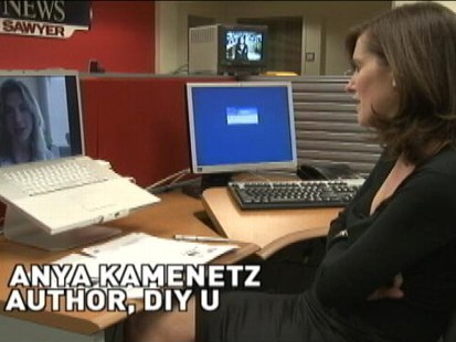 VIDEO: Sharyn Alfonsi taks to Anya Kamenetz about the economic Problems of Gen Y