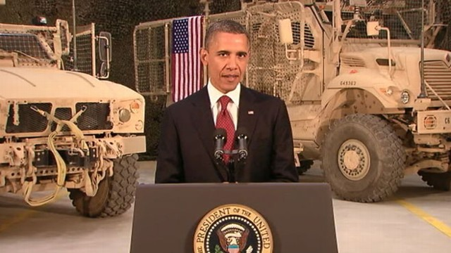 VIDEO: President on historic agreement, Osama bin Laden death anniversary.