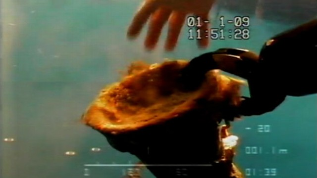 VIDEO: A 2,000-year-old Roman shipwreck yielded jars of wine, oil, grain and pickled fish.