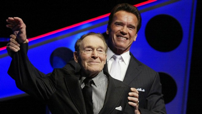 VIDEO: Gov. Schwarzenegger reflects on life of late fitness guru.