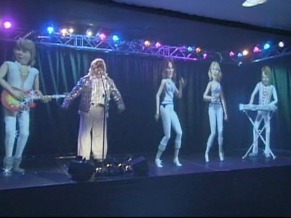 VIDEO: A new theme park in London is inspired by the Swedish music group Abba.