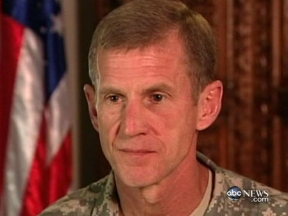 VIDEO: Gen. Stanley McChrystal Says Fight Is in Afghanistan, Not Yemen