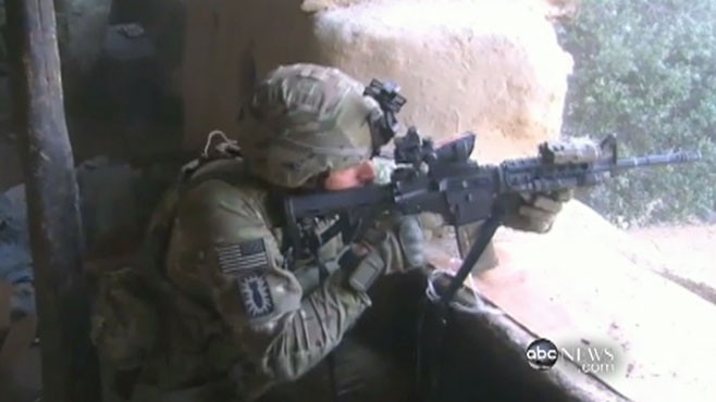 VIDEO: ABCs Mike Boettcher is the only journalist with the 101st Airborne.