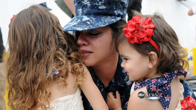 VIDEO: Ten-year war forced many servicewomen to make difficult choices.