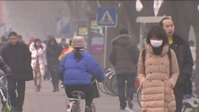 VIDEO: Enormous clouds of pollution cover skies in Beijing, China, now deemed the Air-Pocalypse.