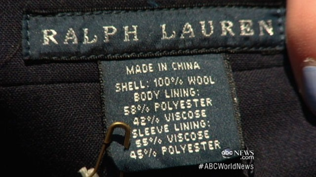 VIDEO: Athletes will wear Ralph Lauren designs at the London Olympics 2012.