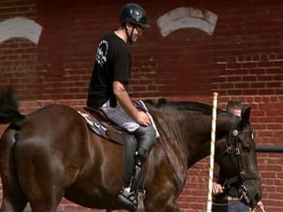 VIDEO: Army Horses Help Vets Gallop Toward Recovery