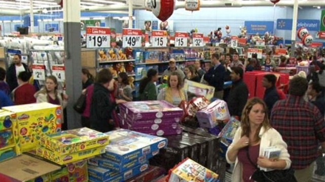 VIDEO: Retailers hope to cash in on holiday consumer frenzy.