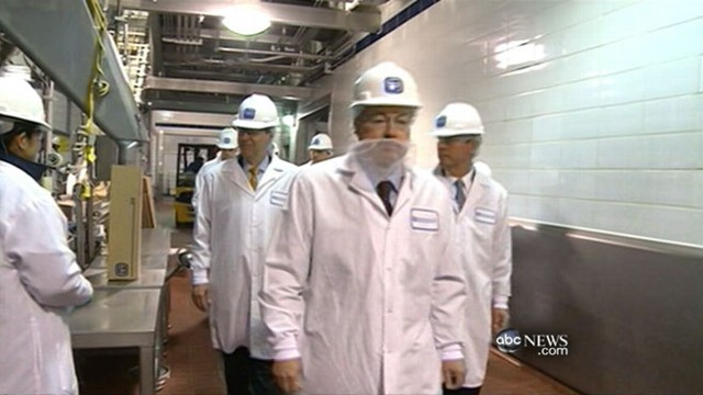 VIDEO: News cameras go inside a plant where ground beef filler is made.