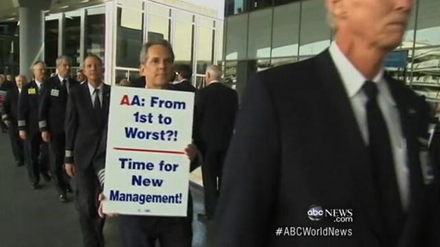 VIDEO: Flight attendants disagreement leaves passengers stranded for hours.