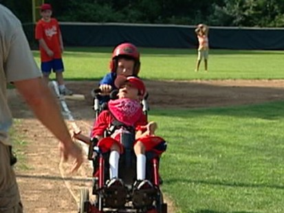 VIDEO: A Big Game for Little Leaguers