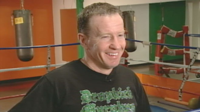 """VIDEO: Meet the real life boxer who inspired the Oscar-nominated film """"The Fighter."""""""