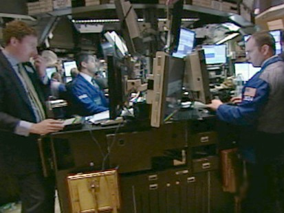 VIDEO: Anxiety Over Jobs Report Causes DOW Drop
