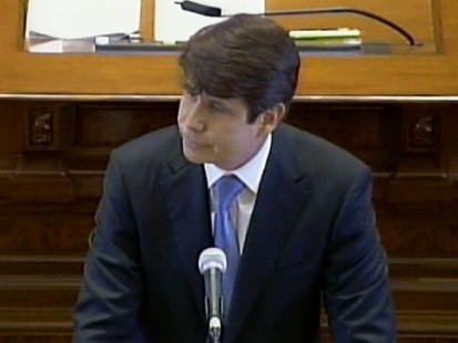 VIDEO: Senate votes out governor Blagojevich