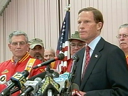 VIDEO: Richard Blumenthal endangers his campaign by exaggerating his Vietnam service.