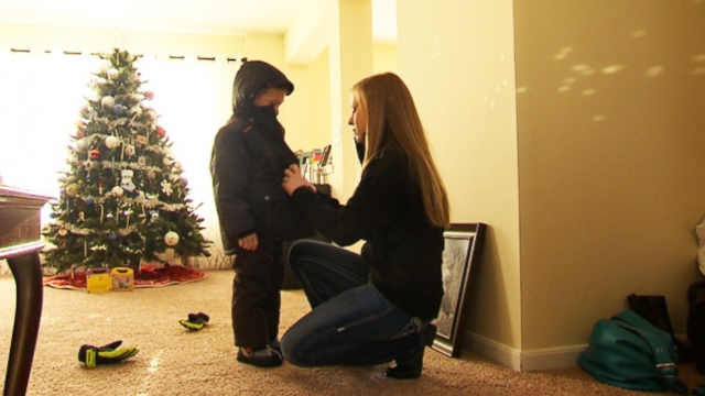Home for the Troops, a Charity, helped Seana Arrechga and her five-year-old son get a new home.