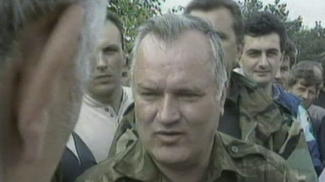 VIDEO: Christiane Amanpour interviewed Ratko Mladic, who is accused of genocide.