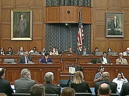 VIDEO: The employees stationed on the Gulf oil rig testify in a congressional hearing.