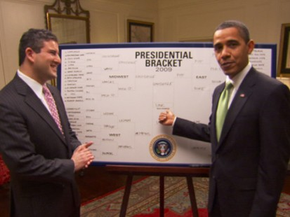 VIDEO: President Obama March Madness bracket