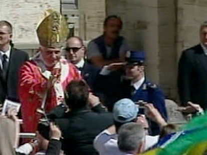 VIDEO: An abusive priest allegedly bought protection with payoffs to Vatican officials.