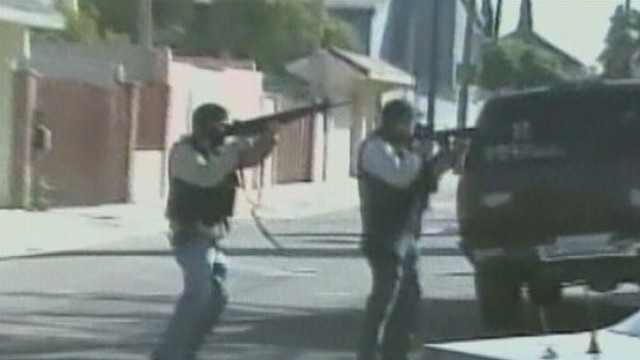 VIDEO: U.S. State Department warns tourists about Mexican drug war.