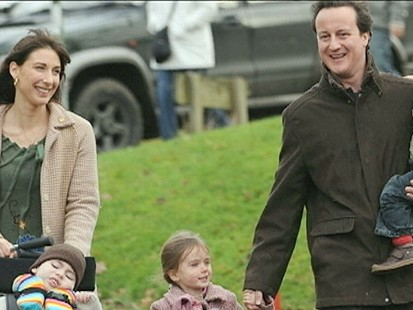 VIDEO: A look at Britains new prime minister as a father.