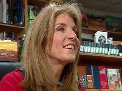 VIDEO: Caroline Kennedy Seaks Senate Seat