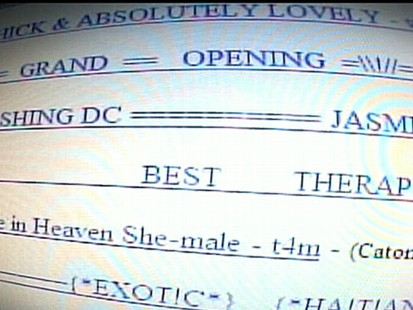 VIDEO: Sex Traffickers Using Craigs List